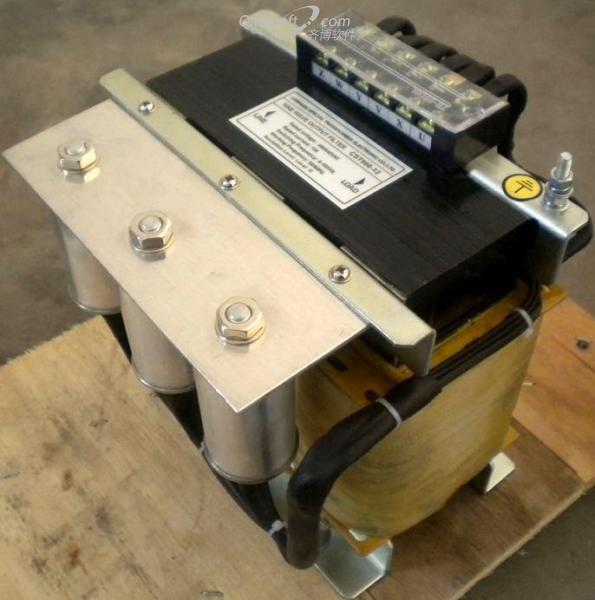 《变频器加装了正弦波滤波器,可是空载时电流波形还是畸变! 》