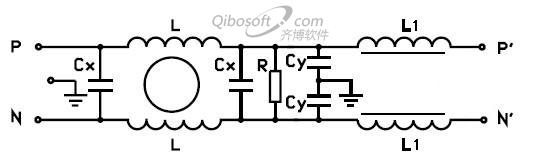 滤波器电路原理图